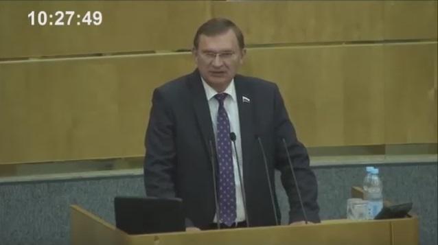 Выступлене С.Б. Дорофеева на пленарном заседании ГД РФ 17 июня 2016 года (ВИДЕО)