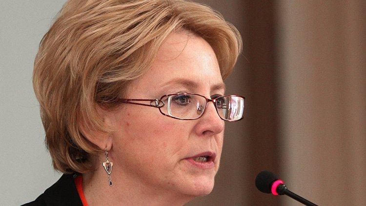 Министр Вероника Скворцова дала интервью информационному агентству ТАСС
