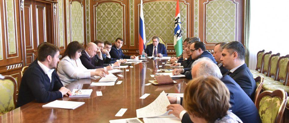 Сергей Дорофеев принял участие во встрече губернатора Новосибирской области с активистами ОНФ