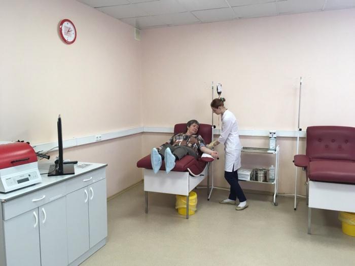 На левом берегу открылся бесплатный стационар для новосибирцев с болезнями крови