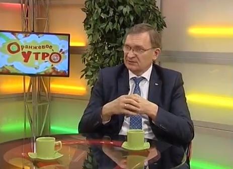 Телеканал НСК 49. Сергей Дорофеев в передаче «Оранжевое утро»