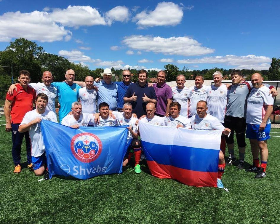 Российские врачи взяли «серебро» на Чемпионате мира по футболу
