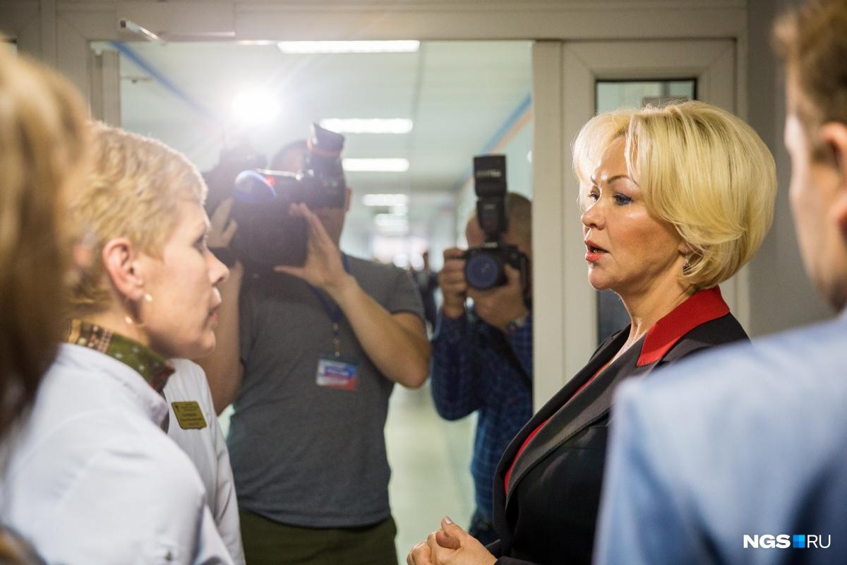 В Новосибирск приехала первый заместитель министра здравоохранения РФ Татьяна Яковлева