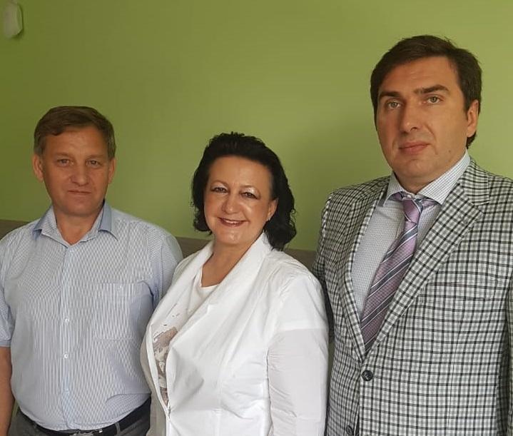 Лучший врач региона: Новый главврач ЦГБ Алла Дробинская познакомилась с мэром Бердска