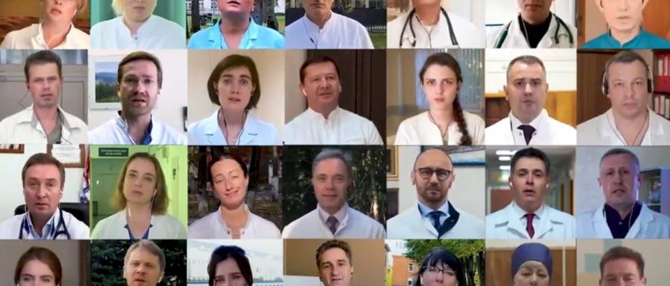 Песня врачей про красную зону 2020