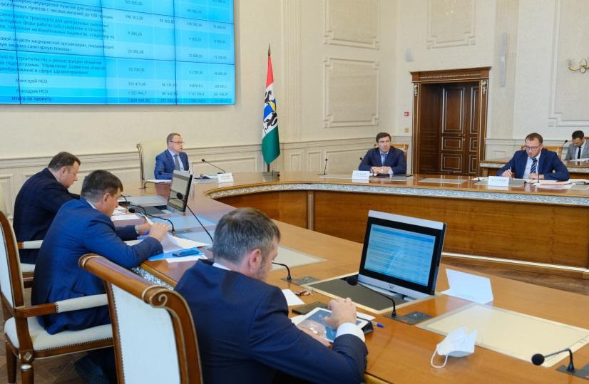 Областной минздрав и главврачи отчитались в Правительстве региона о реализации нацпроекта «Здравоохранение» в 2020 году